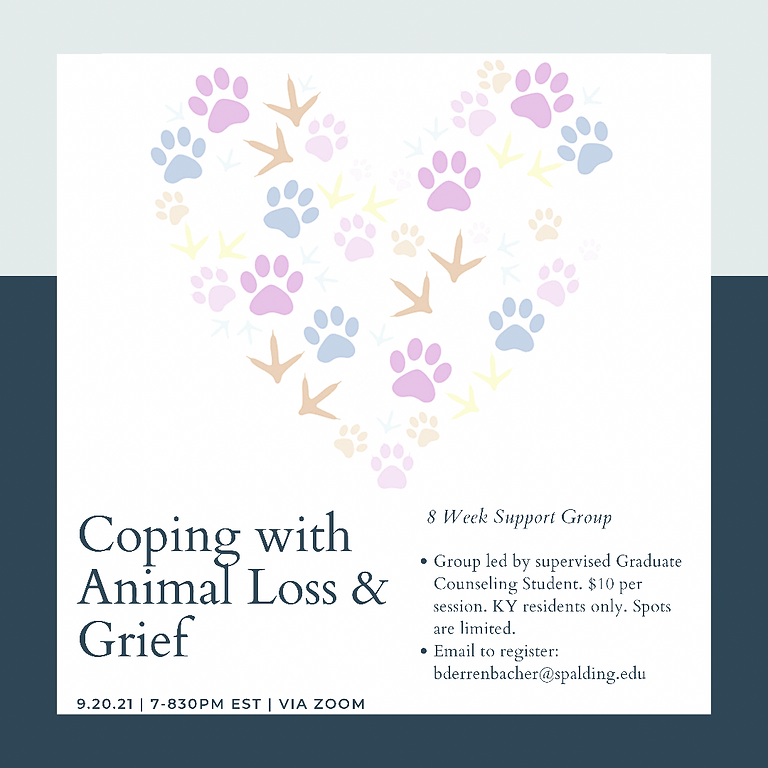 Animal Loss and Grief