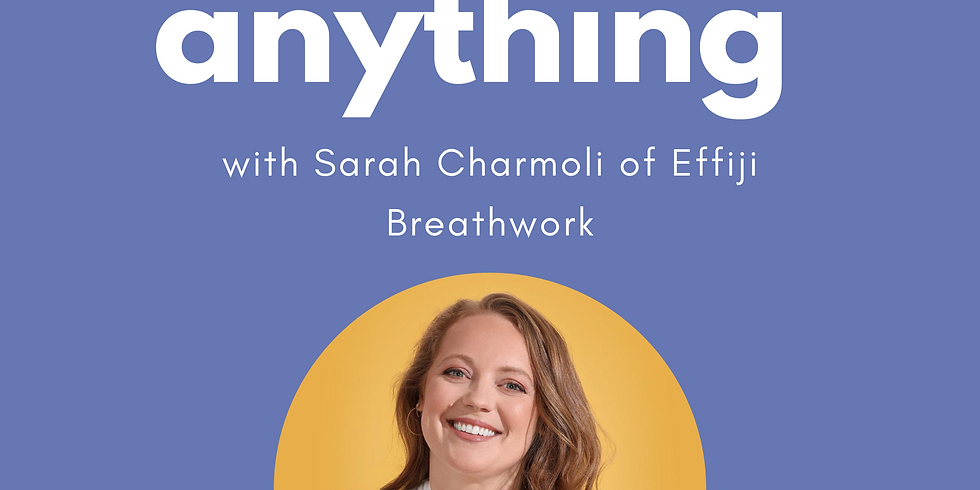 Ask Us Anything: What is Effiji Breathwork and can it help me mentally?