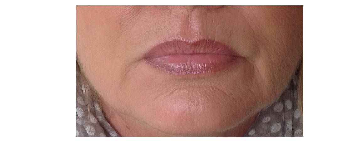 Lippenschattierung + Kontur