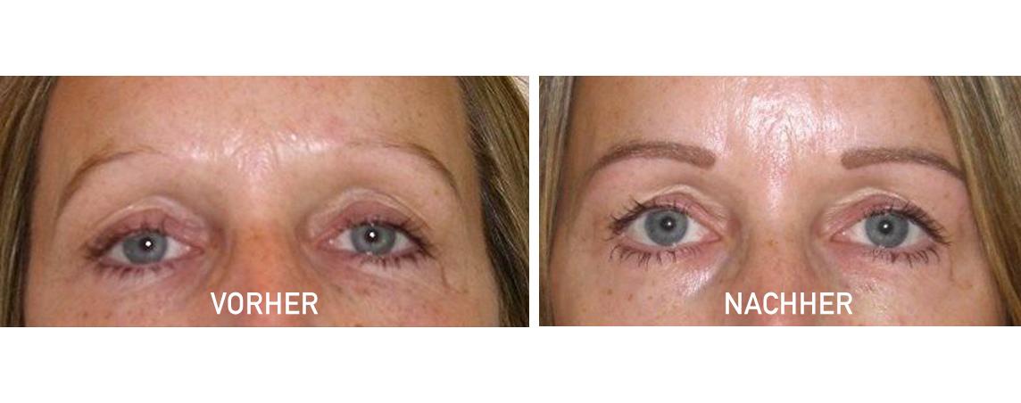 Augenbrauenschattierung