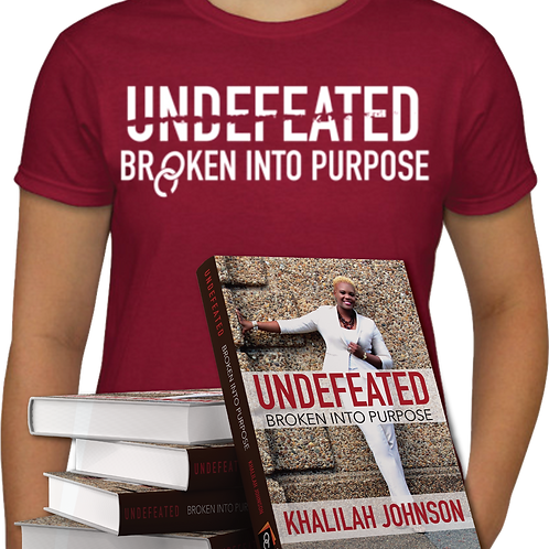 Autographed Book & T-Shirt Combo