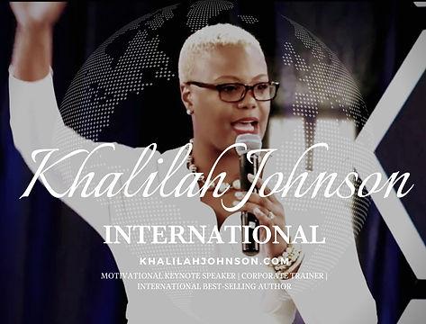 Khalilah Johnson Motivational Keynote Sp