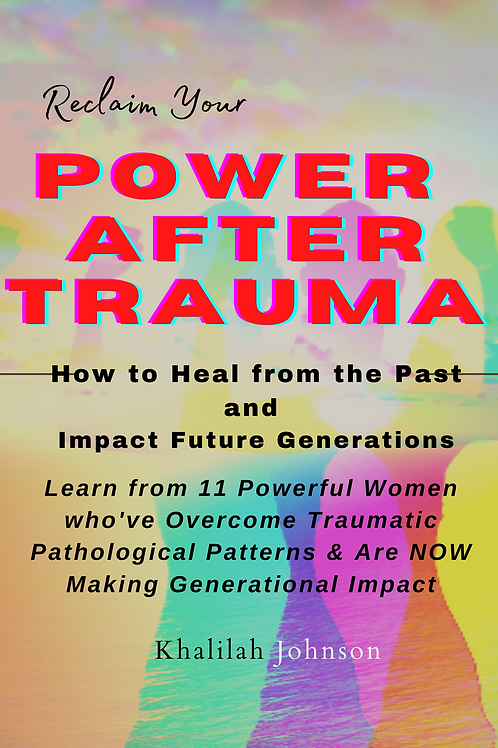 Power after Trauma Book