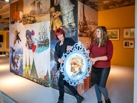 Vandaag precies een jaar geleden was de opening van het Jan Kruis museum. Helaas nu ook nog gesloten