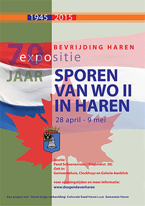 Sporen van WO II in Haren  Gemeente Haren
