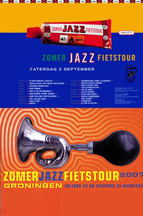 Affiches ZomerJazzFietsTour