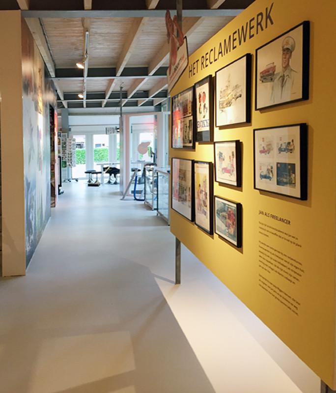 Reclamewerk Poort Jan Kruismuseum