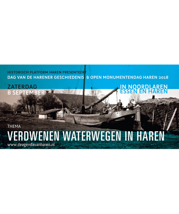 Flyer Dag van de Harener geschiedenis