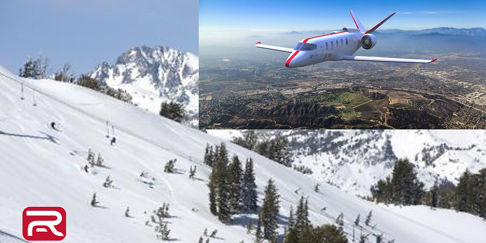 Mid Week Mammoth Mountain - JetSuiteX