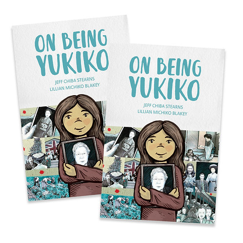On Being Yukiko - Graphic Novel (Two Copies)