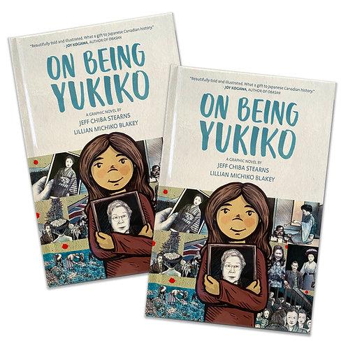On Being Yukiko - (Two Copies) Hardcover Graphic Novel