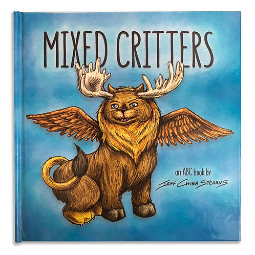 Mixed Critters - an ABC hardcover book by Jeff Chiba Stearns