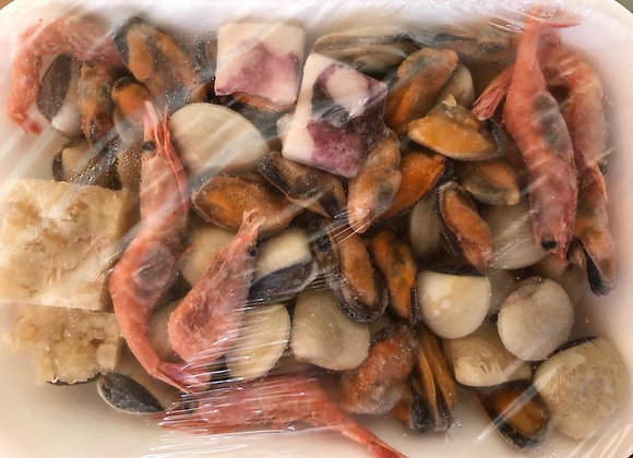 Preparado de paella