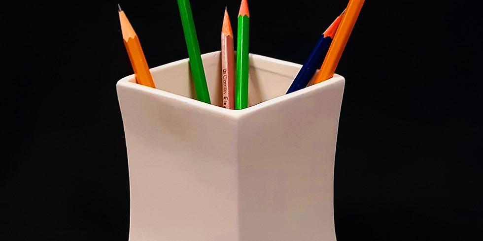 Home School Pencil Holders 12-2