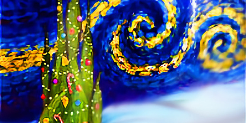 Canvas Painting with Lights! 1pm 12/11