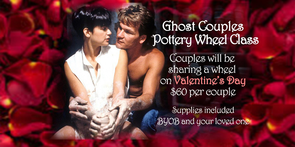 Ghost Couples Pottery Wheel Class