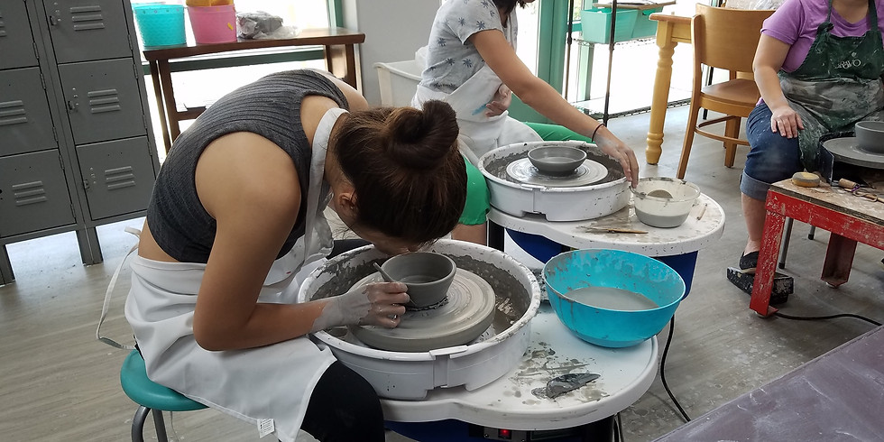 Pottery Class Dec. 4th, 11th, 18th  Wednesday