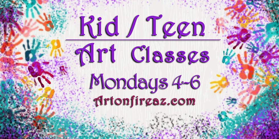 Kid/Teen Art Class
