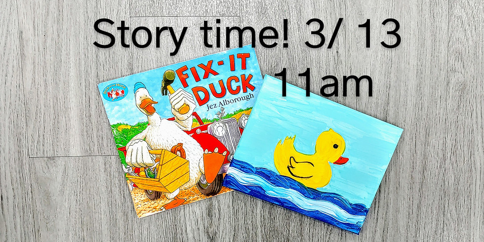 Story Time: Fix It Duck
