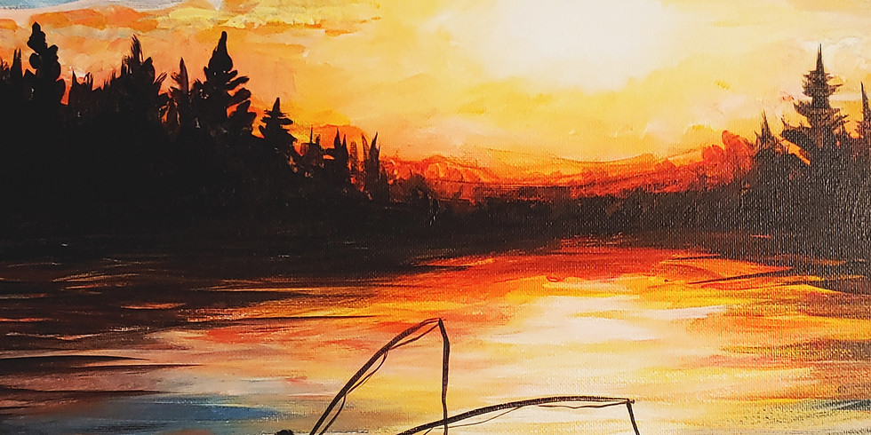 Father's Day Canvas Acrylic Painting Class 6-8 Sat. 6/20