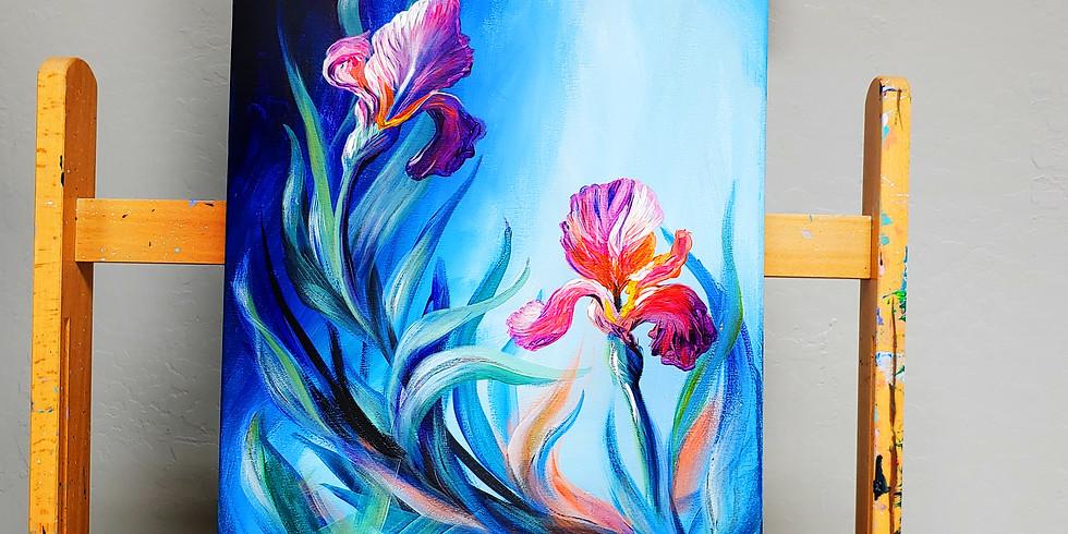 CanvasAcrylicPaint3-5 Fri. 6/12