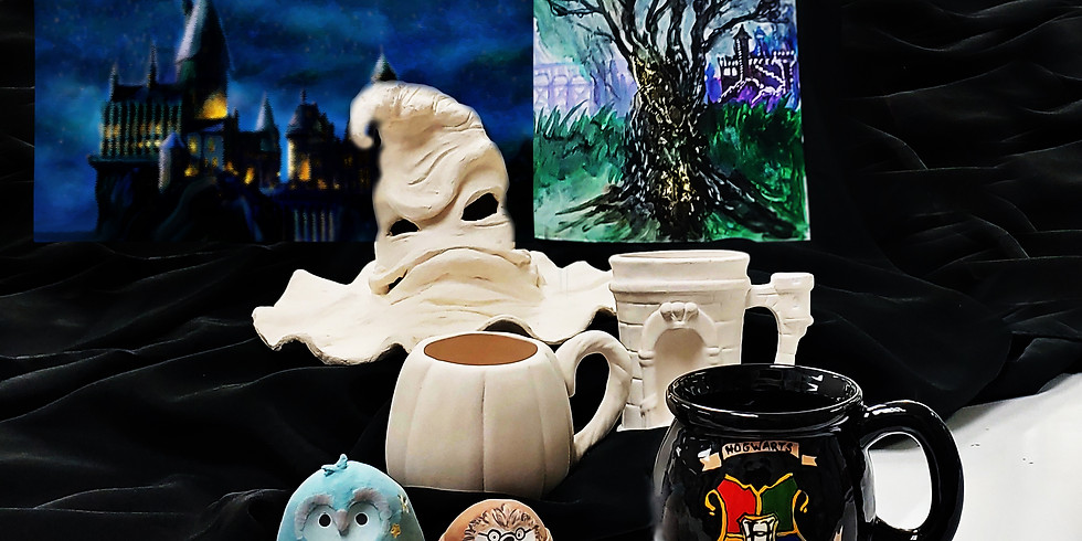 Harry Potter projects all day and night 11am-Midnight!!