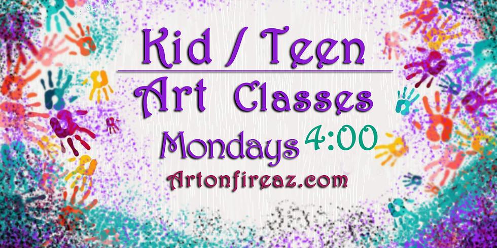 Kid/Teen Art Clas