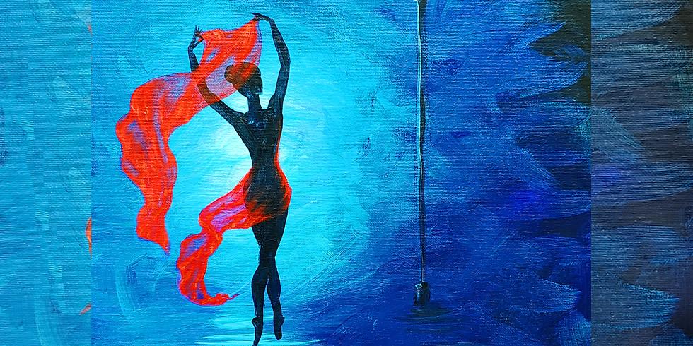 CanvasAcrylicPaint/Sat. Mar. 7th,6-8 Ballet