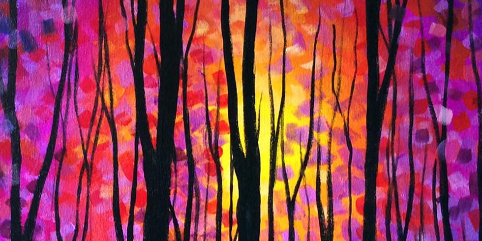 Canvas Acrylic Paint 1pm 10/30