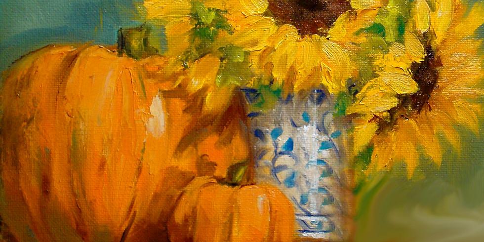 Canvas Acrylic Paint 1pm 1/29/21