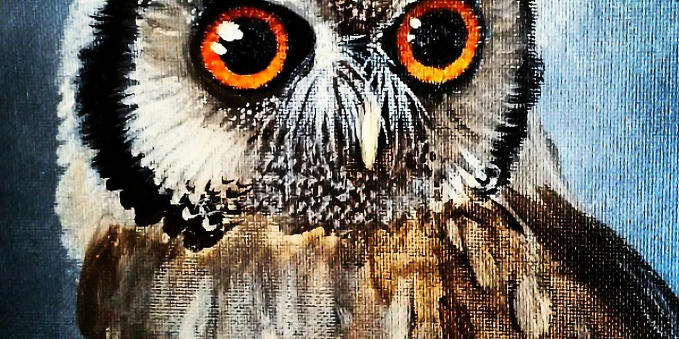Owl Painting 10/31 11-1