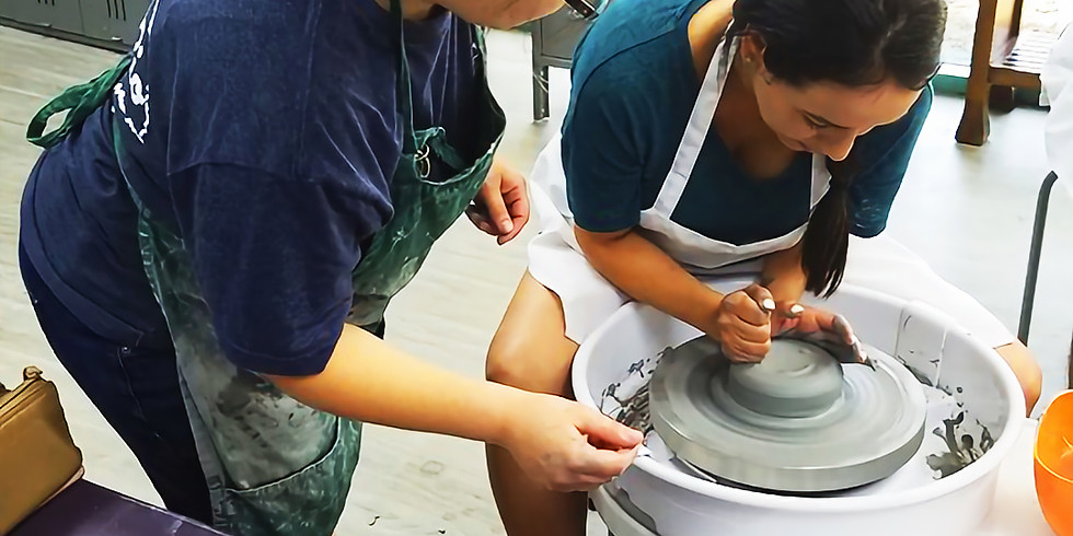 Pottery Classes Oct.12th, 19th, 26th; Saturday 6-8
