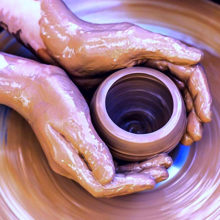 Pottery Class 3pm Sat.Feb.13,20,27