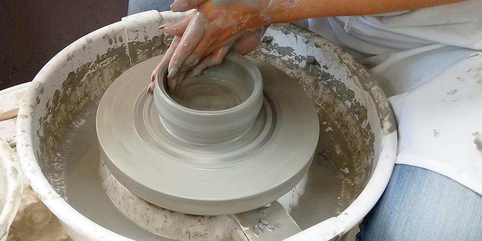 Pottery Lesson Dec. 14th 6-8 Saturday