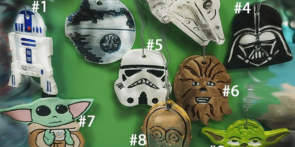 P.Y.O.P. Star Wars Themed Ornaments