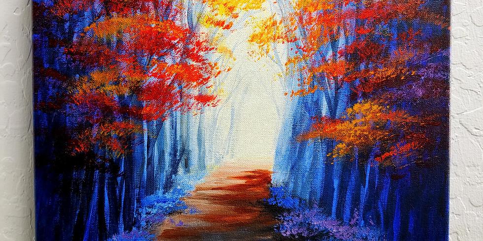 Canvas Acrylic Paint 1pm 11/13