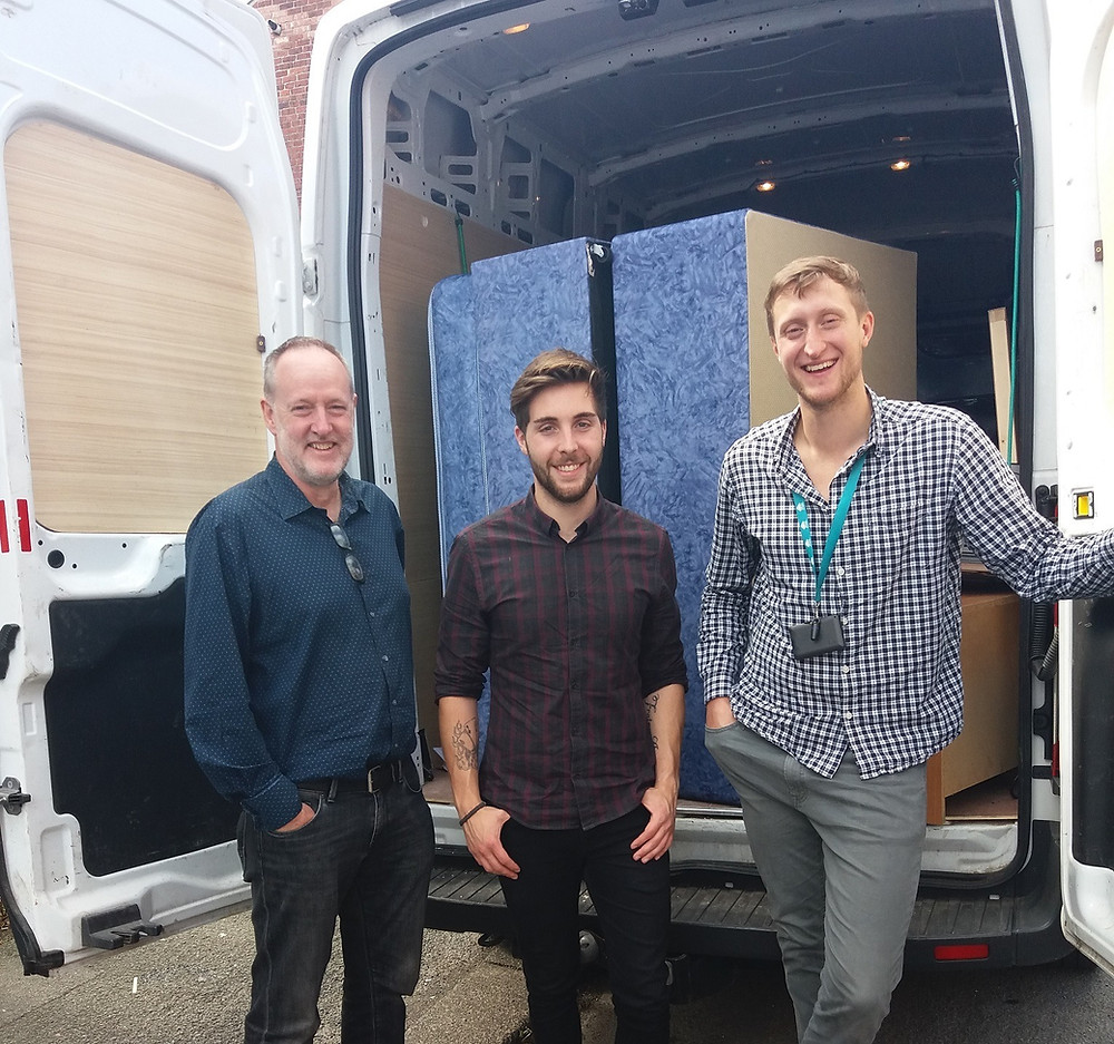 Great Places Chief Exec helps on moving day