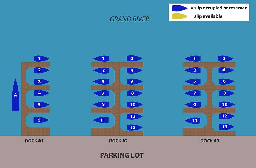grand haven boat slips diagram 060920.jp