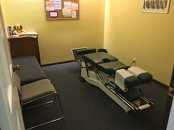 Dr. Dave Ireland Chiropractor exam room 2