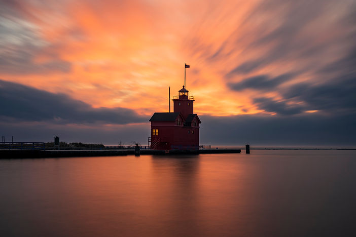 Holland, Michigan: Holland Harbor Lighth | Joanne W Small Therapy Services