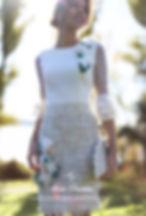vestido mamá de comunión