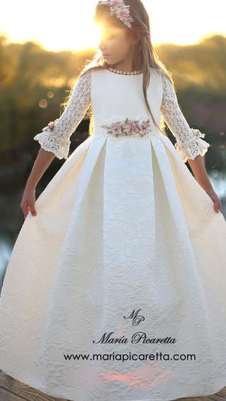 Vestido de Comunión María Picaretta