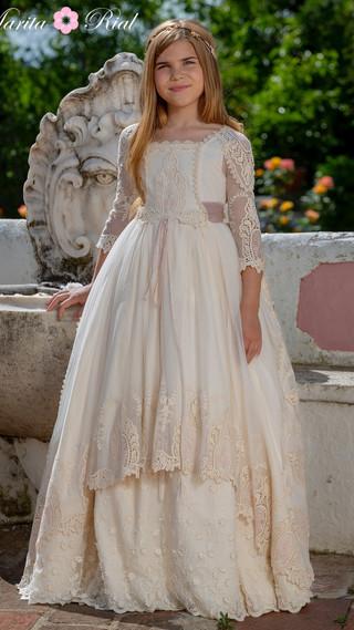 Vestido de Comunión Marita Rial