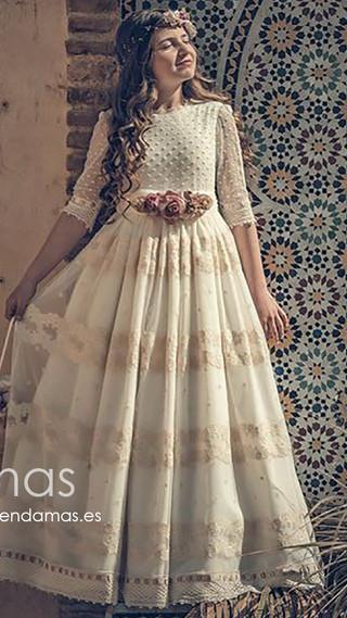 Meninas vestido de comunión