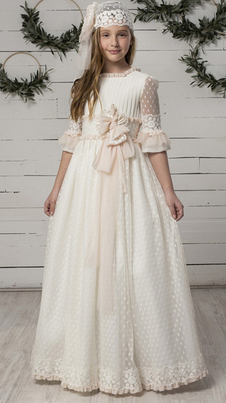 Torretta vestido de comunion