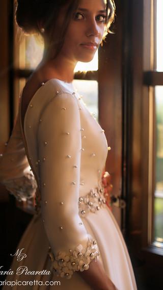 Vestido de novia María Picaretta