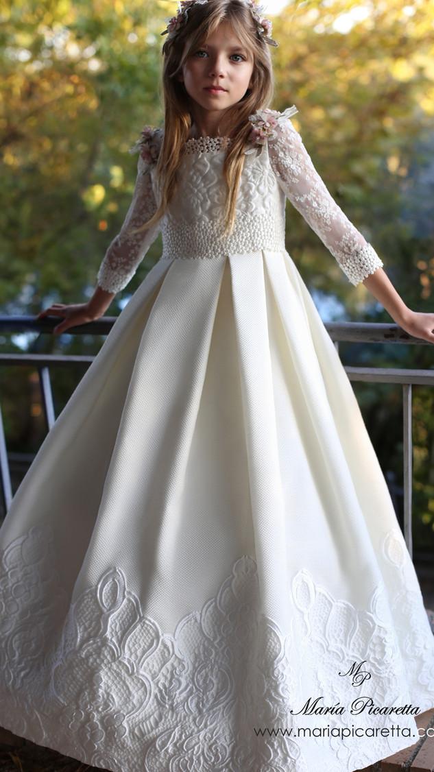 Vestido de Comunión de María Picaretta
