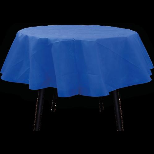 Mantel Redondo Azul