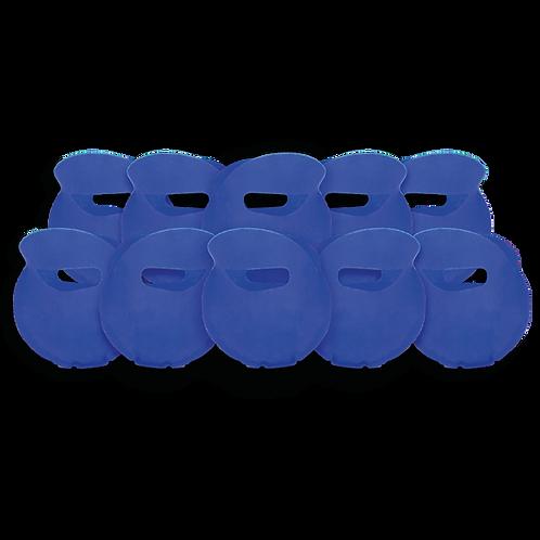 Bolsita Redonda Lisa Azul x10