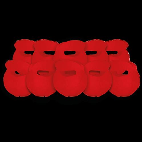 Bolsita Redonda Lisa Rojo x10